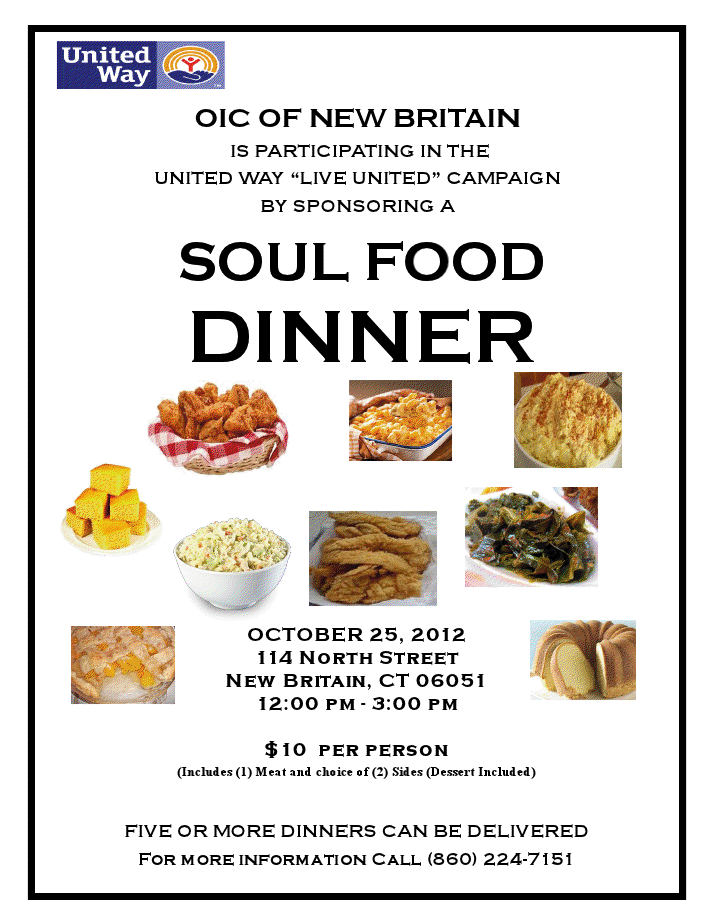 Traditional soul food menu for Traditional southern thanksgiving dinner menu